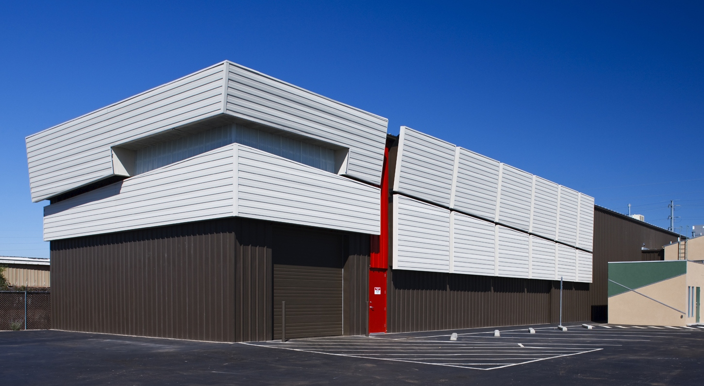 Exterior: Industrial Chaparral Electric Warehouse